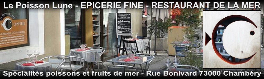 Le Poisson Lune - restaurant a chambery